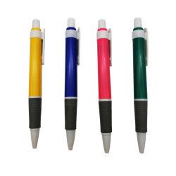 Custom пластиковые шариковая рекламных подарков нажмите ручки управления и школьных принадлежностей