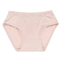 유기농 항균 여아 팬티, 핑크 속옷
