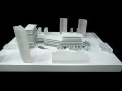 Modèle architectural de décisions, la masse et de modèle de planification de bloc (JW-359)