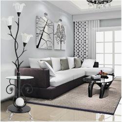 北欧のモダンなフロアランプ LED ティースタンドライトで、生活にも最適です ベッドルームの備品はベッドサイドのメタルフラマーランプの内装が施されている