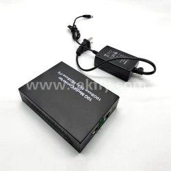 محول وسائط SFP من نوع 10GBASE-Tx إلى 10GBASE-FX في شبكة Ethernet