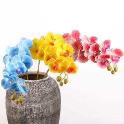 3D 리얼 터치 꽃 인공 고초 9 인공 꽃의 머리