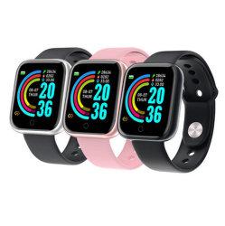 Inseguitore impermeabile Smartwatch Y68 di forma fisica del video di frequenza cardiaca della vigilanza astuta di pressione sanguigna delle donne degli uomini