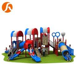مخصص تجاري ملون في الهواء الطلق للأطفال معدات الأطفال حديقة ألعاب Playsets
