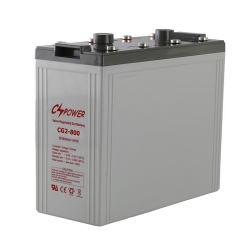 2V 800Ah VRLA Solar Mf pobres Bateria de líquidos