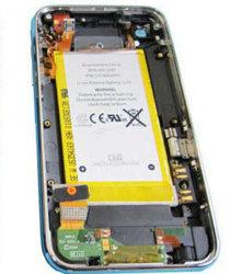 مجموعة الهيكل الخلفي لهاتف iPhone 3GS 16GB أسود