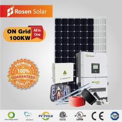 Rosen 100квт по сетке солнечная энергия солнечных энергетических систем