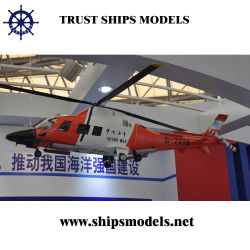 Modelo de helicóptero miniatura