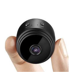 Commerce de gros A9 1080P Black Mini espion caméra sans fil avec la vision de nuit pour la maison de la sécurité