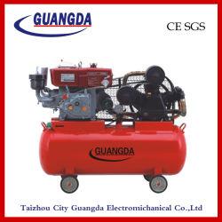 SGS 180L 10HP Belt Driven Diesel Air Compressor van Ce (w-0.97/12.5)