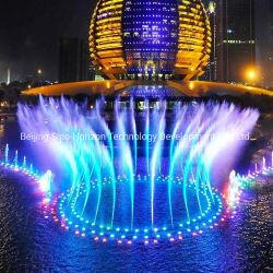Cumbre del G20 Proyecto Música baile Fuente de agua con espectáculo de luz