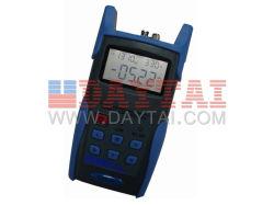 Ordinateur de poche Source de lumière fibre optique de testeur de fibre optique