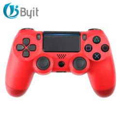 Byit Top Sale PS4 ゲームコントローラ、内蔵スピーカーデュアル搭載 振動および 6 軸ジャイロホワイト