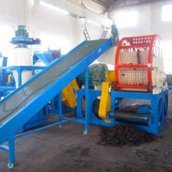De gehele Maalmachine van de Machine van het Recycling van de Band van het Afval