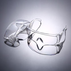 Sicherheits-Schutzbrille-Sicherheits-Augen-Schutzbrille-Schutzbrille-Einspritzung