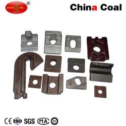 Abrazadera de ferrocarril o de color Kpo HDG para fijación raíl