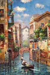 A arte de lona de Veneza pintura a óleo