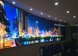 Высокая контрастность полноцветный светодиодный дисплей для установки внутри помещений, светодиодный экран с глубоким уровнем черного цвета