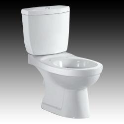 Laver en céramique classique vers le bas en deux pièces P S-TAP-TRAP salle de bain WC (No. OM-P019)