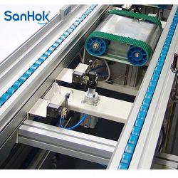 Personalizar el doble de velocidad DC la soldadora de arco de industriales de transportador de la línea de montaje con el equipo de prueba