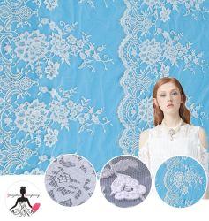 Klassisches Stickerei-Gewebe-Spitze-Gewebe für Hochzeits-Kleid, Frauen-Abnützung