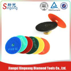 El uso húmedo Flexible Pad pulido de diamantes con el agua