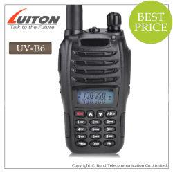 Baofeng UV-B6 5W 99CH UHF&VHF mobiles bewegliches Interfon-Lautsprecherempfänger-Funksprechgerät-bidirektionaler Radio