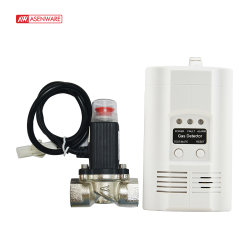 Portátil de forma independiente de alarma del detector de fugas de gas para la seguridad del hogar