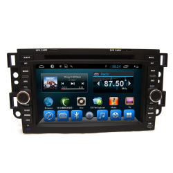 Double DIN Android Auto Radio avec lecteur de DVD GPS Chevrolet Captiva