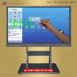55 65 75 86 98 polegadas sensível ao toque Interativo smart TV Tela de Comunicações Electrónicas Exibir Flat Panel Equipamentos para a Conferência de Reunião do ensino em sala de aula da educação (4)
