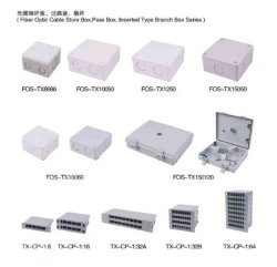 Coffret d'extrémité de télécommunication de câble fibre optique de vente en gros de distribution de FTTX