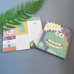Nota adhesiva papelería suministros de oficina Libro Tapa dura promoción regalos personalizados de Bloc de notas Kawaii pegatina