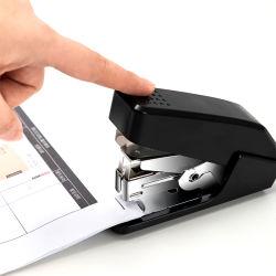 Office 20 hojas de papelería estándar Máquina grapadora 24/6 26/6 el plástico