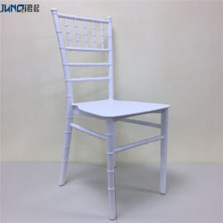 Venda por grosso transparente de plástico acrílico italiano Preto Branco Resina Chivari Cadeiras Cadeira de Napoleão