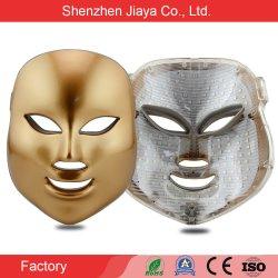 Fabricante de fotones 7 Terapia de luz LED de color las máquinas de uso doméstico, la cara de máscara de belleza Cuidado de la piel facial
