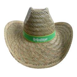 安く自然なわらの昇進の帽子の空のわら