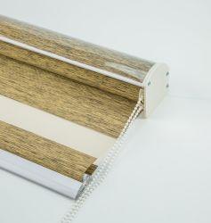 Insira a decoração da tampa estilizada tecido Blecaute Zebra Estore