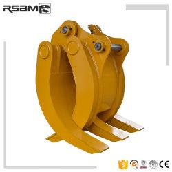 Registro de la excavadora Rsbm tenazas de la cuchara para el reciclaje