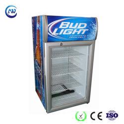 Mini Refrigerador de la Botella de Cristal de Cerveza del Refrigerador del Escaparate del Vino (JGA-SC58)