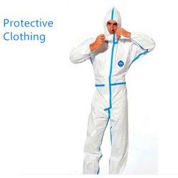 Combinaison de protection de l'isolement des Blouses jetables de vêtement de protection de la sécurité
