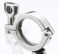 サニタリーパイプ溶接フェルール + 三角クランプ + PTFE ガスケットセットステンレス SUS SS 304