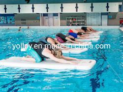 水に体操のための膨脹可能なヨガのトレーニングのマット