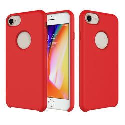Schöner flüssiger Silikon-Gummi-Mattkasten-Shockproof Kasten für iPhone X