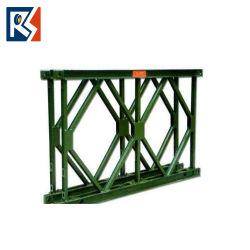 Armado de la puente Bailey de acero Diseño costo puente prefabricados