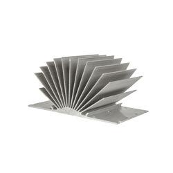 Perfil personalizado de fábrica del disipador de calor del radiador de carcasa de aluminio