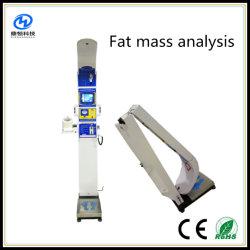 Plegar y de la moda de la altura de ultrasonidos y la báscula con la impresora térmica y análisis de la IMC