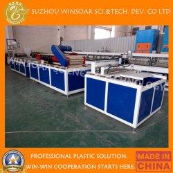 Le plastique PVC+ PMMA/ASA Tuile Wave/glaçure décisions et de l'Extrusion/Ligne de Production