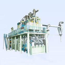 Полное оборудование для обработки кукурузы шлифовке риса кукурузы пшеничной муки мельница фрезерного станка