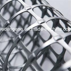 Polipropileno Bi-Axial Geogrid plástico PP para solo macio na parede de retenção da Fundação de Proteção da Inclinação