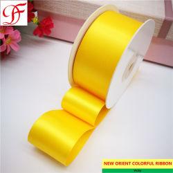 Commerce de gros usine OEM/Custom imprimées en double/ ruban de satin simple face à l'emballage/décoration/vêtement/xmas/arcs
